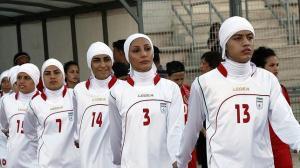 Selección Irán fútbol femenino